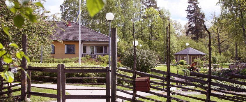 Äldreboendet Åsens bakgård