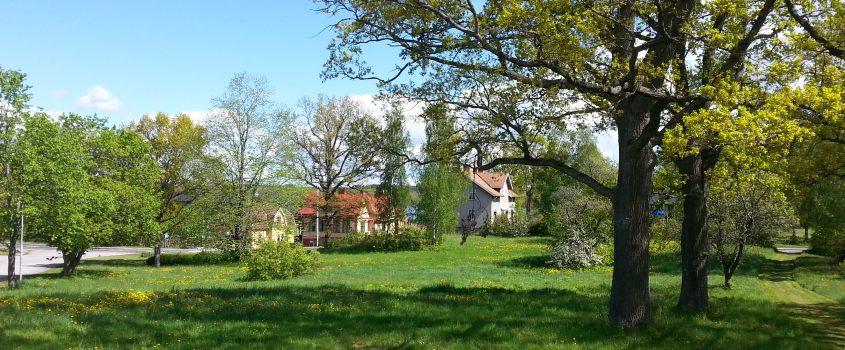 Tomtområdet kvarteret Kapellet i Sparreholm.