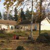 Gult enplanshus i vinkel - Brogetorps förskola