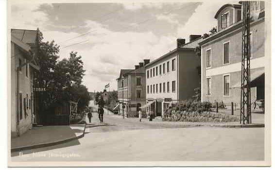 Bild från förr - ca 40-tal - Norra järnvägsgatan