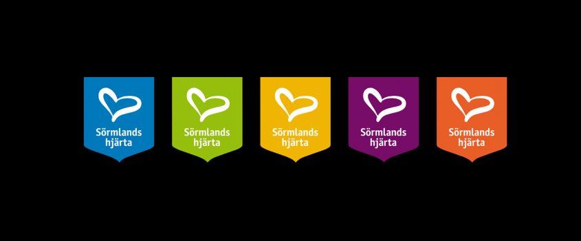 Flens kommuns emblem för Sörmlands hjärta