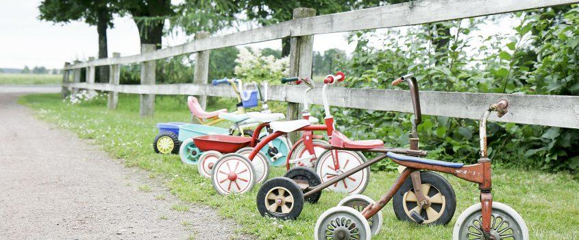 Parkering för trehjulingar