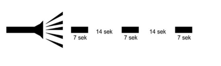 VMA signal 7 sek signal 14 sek tyst 7 sek signal 14 sek signal