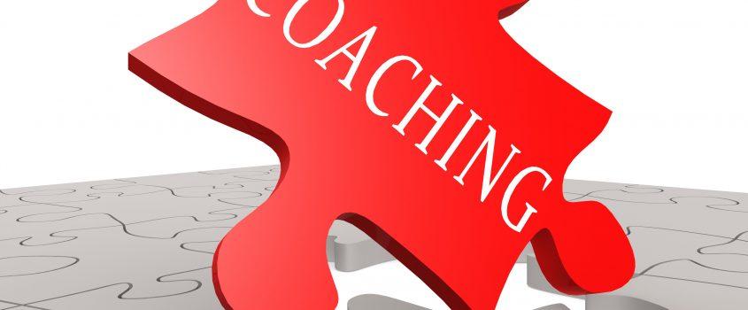 "Pusselbit med order ""Coaching"" på"