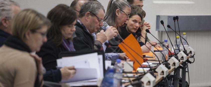 Politiker på rad vid kommunfullmäktige