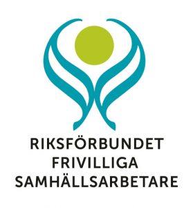 Logotyp - Riksförbundet Frivilliga Samhällsarbetare