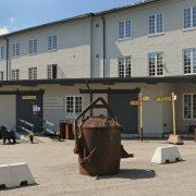 Ingång till konstgalleriet & gjuterimuseet i Hälleforsnäs