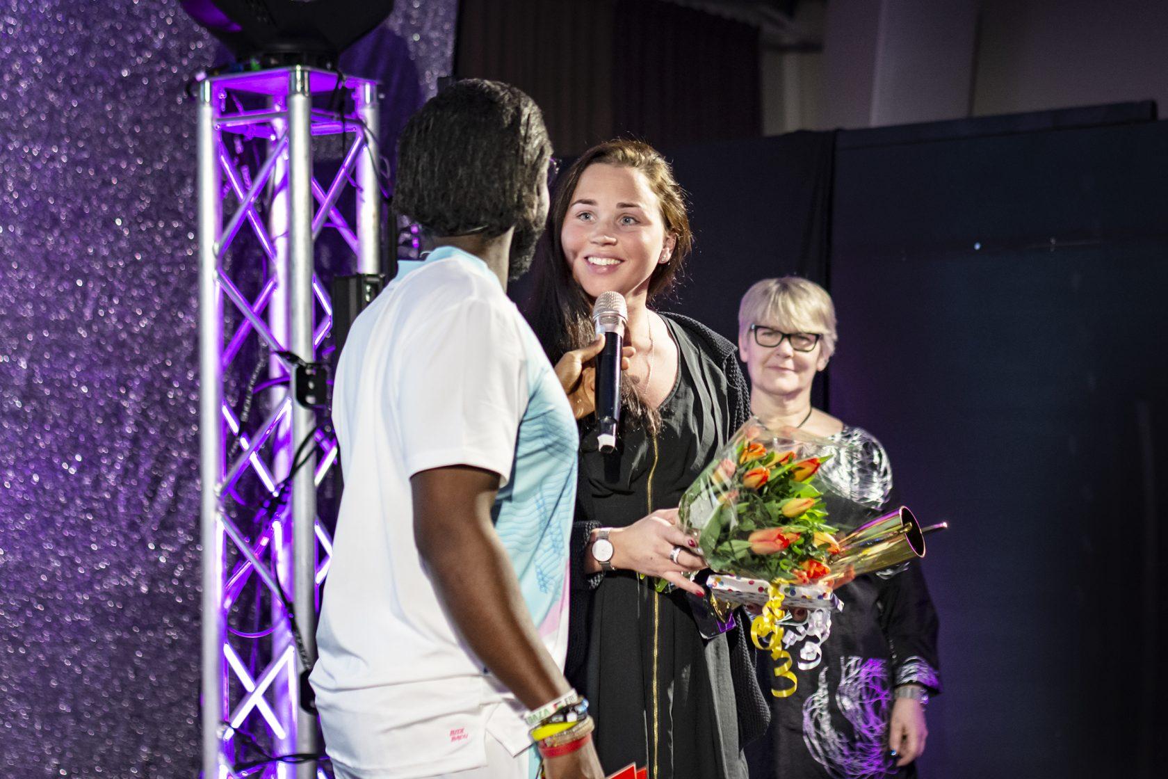 Årets tränare/aktivitetsledare Sara Li Vestberg, ridsport