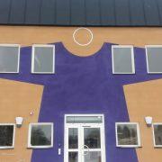 Byggnaden Skjortan i Flen