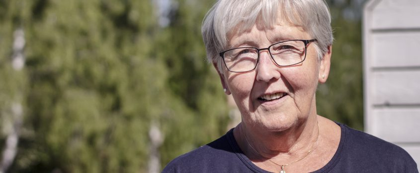 Margaretha Andersson är god man.