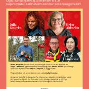 Inbjudan Morgonsoffan 4 december. Informationsblad.