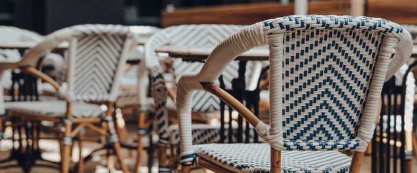möbler på uteservering
