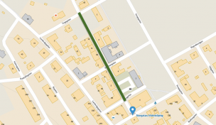 Karta över Malmköpings centrum