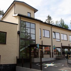 Bild på byggnaden Kungsfågelns förskola