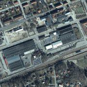 Flygfoto över fastigheten blocket 4