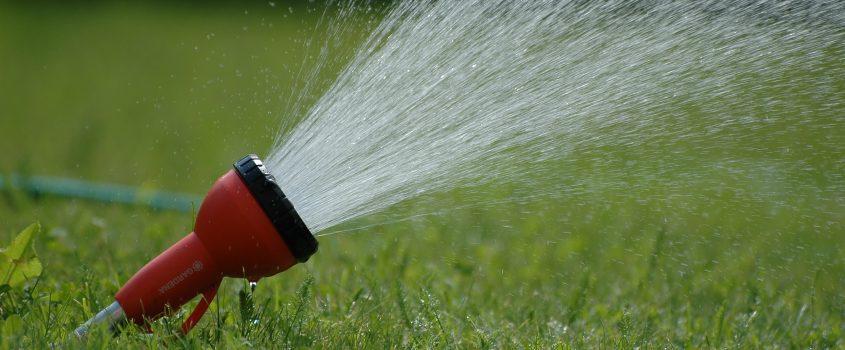 Bild på vattenspridare