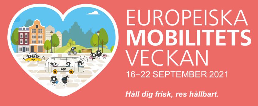 Banner för europeiska mobilitetsveckan